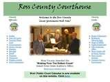 Images of Ross County Auditor Website